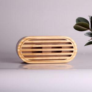 wooden acoustic speaker